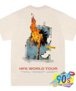 Hopeless Burning Palm Halsey Singer T Shirt