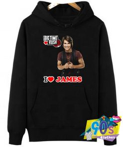 I Love James Big Time Rush Hoodie