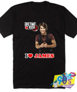 James Lovers Big Time Rush T Shirt