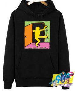 Keith Haring LGBT Gay Pride Hoodie