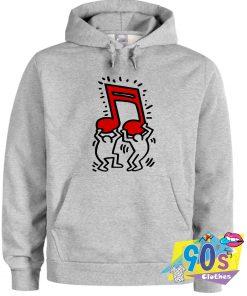Keith Haring Music Pop Art Hoodie
