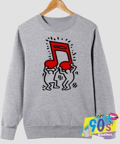 Keith Haring Music Sweatshirt