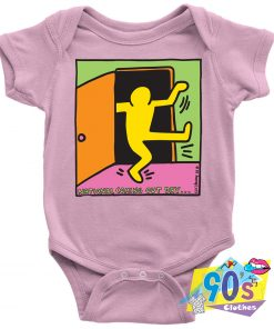 Keith Haring National Coming Out Day Pop Art Baby Onesie