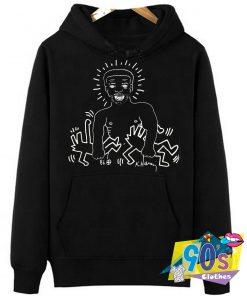 Larry Levan Paradise Garage Keith Haring Hoodie