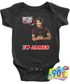 Love James Personnel of Big Time Rush Baby Onesie