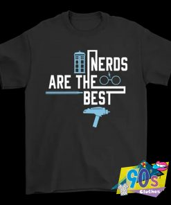 Nerds Are The Best Doctor Who Harry Potter Star Wars Star Trek T Shirt
