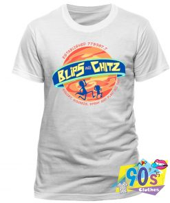 Rick And Morty Blips Chitz T Shirt