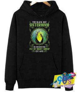 Scary The Black Hat Sisterhood Adult Hoodie