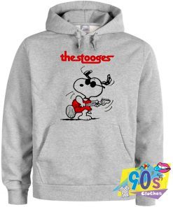 Snoopy X The Stooges Rock Band Hoodie