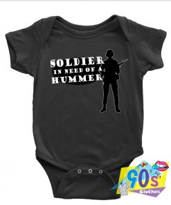 Soldier Army Marine Custom Baby Onesie