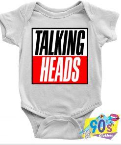 Talking Heads Baby Onesie