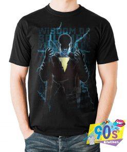 The Action Captain Marvel Dc Comics Movie T Shirt