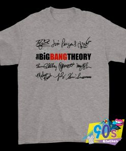 The Big Bang Theory Sitcom Signature T Shirt