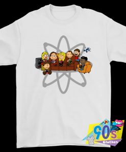 The Big Bang Theory Snoopy Peanuts Squad T Shirt