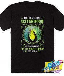 The Black Hat Sisterhood Fly By Night Group T Shirt