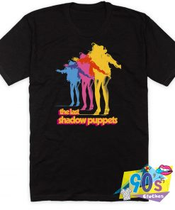 The Last Shadow Puppets Pop Band T Shirt