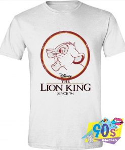 The Lion King Simba Circle 94 Movie T Shirt