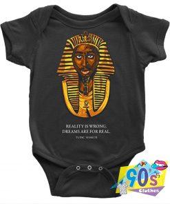 Tupac Shakur Pharaoh Ugly Graphic Baby Onesie
