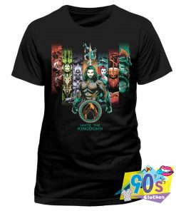 Unite The Kingdoms Aquaman Movie T Shirt