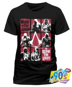 Work In The Dark Assassins Creed Lineage Movie T Shirt