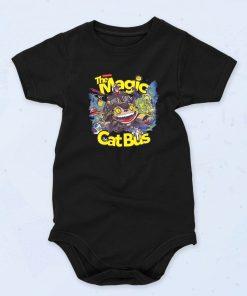 Black The Magic Cat Bus Totoro Funny Baby Onesie