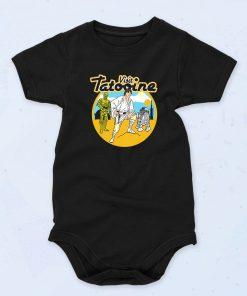Black Visit Tatooine Funny Baby Onesie