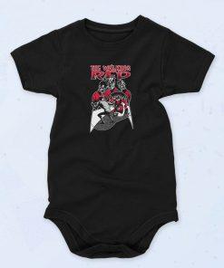 Black Walking Red Funny Baby Onesie