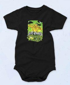 Black Wiz Khalifa Funny Baby Onesie