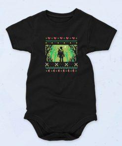 Black Zelda Uggly Funny Baby Onesie