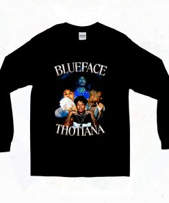 Blueface Thotiana 90s Long Sleeve Style