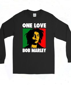 Bob Marley Song 90s Long Sleeve Style