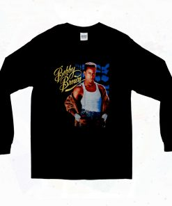 Bobby Brown Vintage Hip Hop 90s Long Sleeve Style