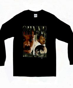 Bonnie And Shyne Black Rapper 90s Long Sleeve Style