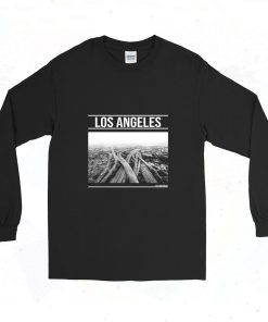 Brandy Melville Los Angeles 90s Long Sleeve Style