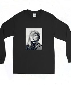 Brigitte Bardot Smoke Cigarette 90s Long Sleeve Style