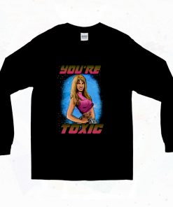 Britney Spears Youre Toxic 90s Long Sleeve Style