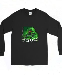 Broly Dragon Ball Graphic T Shirt 90s Long Sleeve Style