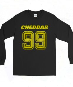 Brooklyn Nine Nine Cheddar 90s Long Sleeve Style