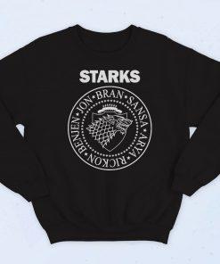Game Of Thrones Starks Fashionable Sweatshirt