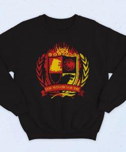 Game Of Thrones Win Or Die Fashionable Sweatshirt