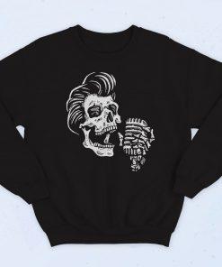 Greasers Say Never Die Fashionable Sweatshirt