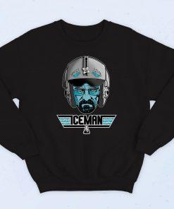 Iceman Walter White Pilots Fashionable Sweatshirt