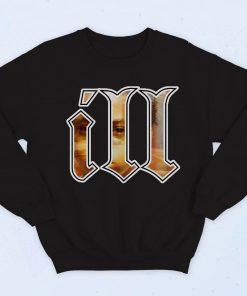 Ill Nastic Black Fashionable Sweatshirt