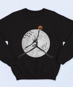 Jack Skellington Jordan Air Fashionable Sweatshirt