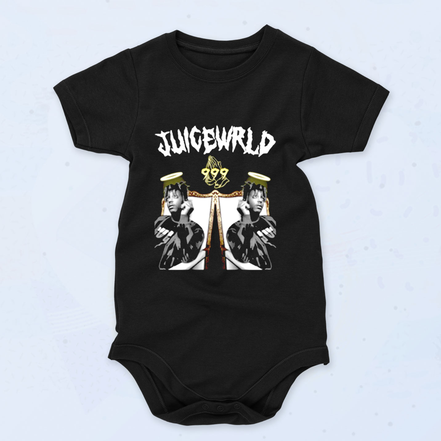 Juice Wrld 999 Angels Baby Onesies Style, Baby Clothes ...