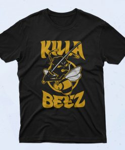 Wu Tang Clan Mascot Killa Bee 90s T Shirt Style