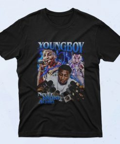 Youngboy Never Broke Again 90s T Shirt Style